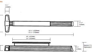 Von Duprin Templates Von Duprin 3347a Eo Sp28 3347a Eo Sp313 Narrow Stile