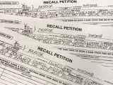 Voter Card Name Correction form Fraser Council Members Face Recall Over Raising Taxes