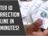 Voter Id Card Name Change Voter Id Correction Online How to Make Changes In Your Voter Id Card In 10 Minutes