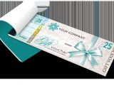 Voucher Booklet Template Gift Voucher Printing Secure Personalised Gift Vouchers