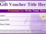 Voucher HTML Template 17 Gift Voucher Templates Excel Pdf formats
