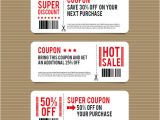 Voucher HTML Template 43 Printable Coupon Design Templates to Download Sample