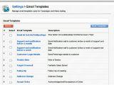 Vtiger Email Templates Vtiger Settings Email Templates Interface Caroline Et