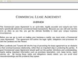 Warehouse Contract Template Commercial Lease Agreement Youtube