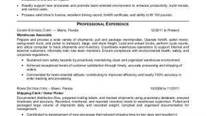 Warehouse Resume Sample Warehouse associate Resume Sample Monster Com