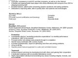 Warehouse Resume Templates Resume for A Distribution Warehouse Worker Susan Ireland