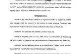 Waste Management Contract Template Waste Management Landfill Contract