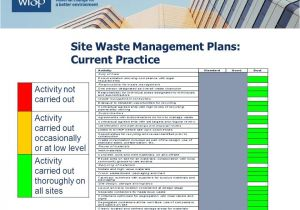 Waste Management Strategy Template Site Waste Management Plans and the Code Ppt Video