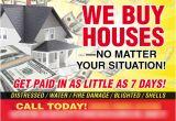 We Buy Houses Flyer Template We Buy Houses Postcard Template Washington D C Real