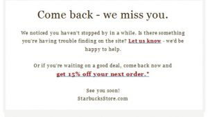 We Want You Back Email Template Win Back Email Campaigns We Miss You Part 1