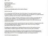 Wealth Management Cover Letter Sample Investment Banker Cover Letter Sample Monster Com