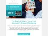 Web Design Email Marketing Templates top 8 B2b Email Templates for Marketers In 2017