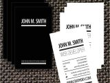 Web Developer Business Card Templates 3 Typographic Web Developer Business Card Templates Best