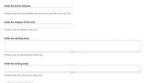 Webform Email Template Webform Confirmation Drupal org