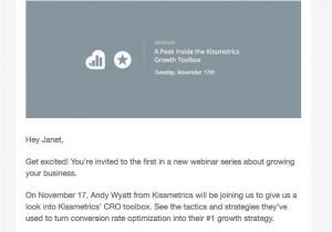 Webinar Email Templates App Samurai event Invitation Email Examples with Key