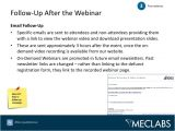 Webinar Follow Up Email Template 21 Ideas for Webinar Marketing