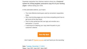 Webinar Invitation Email Template How to Create Webinar Invitations that Drive Registrations