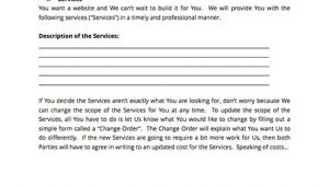 Webmaster Contract Template Finally A Simple Web Design Contract Template Docsketch