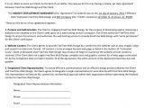 Webmaster Contract Template Sample Website Development Agreement