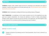 Webmaster Contract Template Web Design Contract Template Vandelay Design