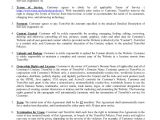 Website Support Contract Template Hosting Agreement Template 13 Free Word Pdf format