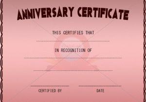 Wedding Anniversary Certificate Template 42 Best Adoption Certificate Templates Images On Pinterest