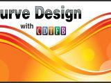 Wedding Card Design In Coreldraw X7 Curve Design Background In Coreldraw X7 with Cdtfb with