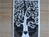 Wedding Card Designs with Price Affordable Price Laser Cut Tree Wedding Card Invitation