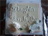 Wedding Card for Daughter and son In Law Send Rosy and Warm Anniversary Wishes to Your Daughter and