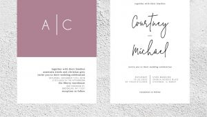Wedding Card Template Free Download Instant Download Wedding Invitation Temp with Images