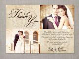 Wedding Card Thank You Wording Vintage Wedding Thank You Card the Ellie 39 75 Via