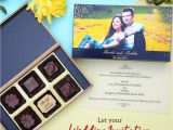 Wedding Card Under 20 Rs Unique Indian Wedding Invitations Chococraft