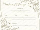 Wedding Ceremony Certificate Template Creamy Gray Marriage Certificate Template Get