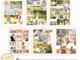 Wedding Collages Templates 6 Storyboard Photoshop Templates 16×20 Digital Collage
