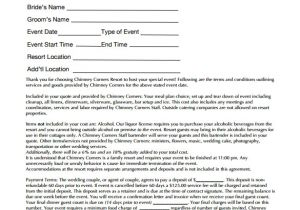 Wedding Flower Contract Template Wedding Contract Template 23 Download Documents In Pdf