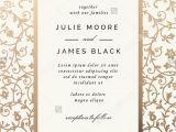 Wedding Invitation Card Background Design Hd Vintage Wedding Invitation Template with Golden Floral Backg