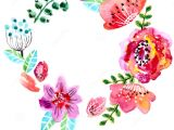 Wedding Invitation Card Background Design Hd Watercolor Floral Frame for Wedding Invitation Stock Vector