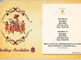Wedding Invitation Email Template Indian E Invitation for My Wedding Faqs Myshaadi In