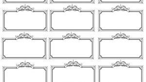 Wedding Name Plate Template Name Tag Template Bridal Shower Wedding Pinterest