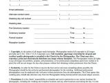 Wedding Photography Contracts Templates Free Printable Wedding Photography Contract Template form