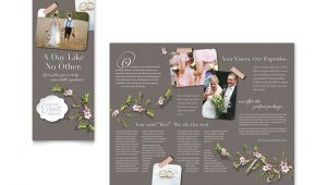 Wedding Planner Brochure Template Wedding Planner Brochure Template Design