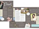 Wedding Planner Brochure Template Wedding Planner Newsletter Template Design