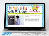 Weebly Pro Templates Mrs Carr Template for Weebly Albemarle Pr