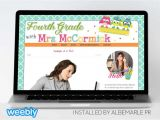 Weebly Pro Templates Mrs Mccormick Template for Weebly Albemarle Pr