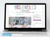 Weebly Pro Templates Mrs O 39 Neill Template for Weebly Albemarle Pr