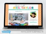 Weebly Pro Templates Mrs Taylor Template for Weebly Albemarle Pr
