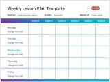 Week Long Lesson Plan Template the Best Powerpoint Templates for Educational Presentations