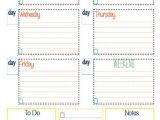 Week organizer Template Best 25 Weekly organizer Ideas On Pinterest Post Office