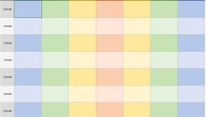 Weekly Appointment Calendar Template Free Excel Calendar Templates
