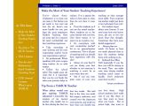 Weekly Email Newsletter Templates Sample Teacher Newsletter Template 6 Free Documents